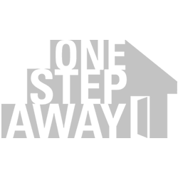 One Step Away Logo - Donated Website