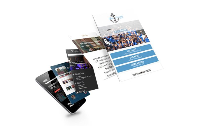 Web Design For Philadelphia Small Businesses - mobile screen sizes of websites